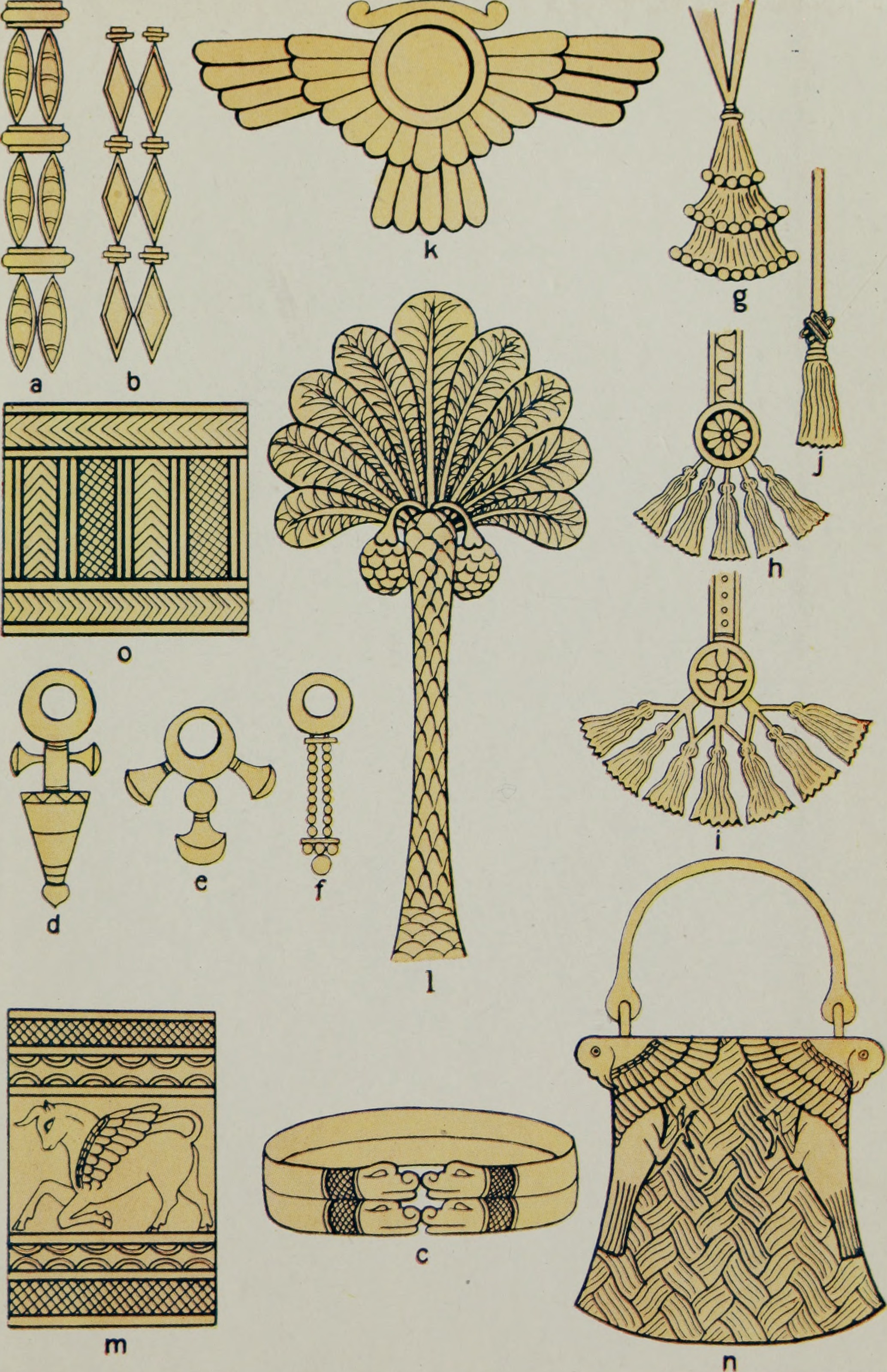 File ancient egyptian assyrian and persian costumes and for Ancient egyptian decoration