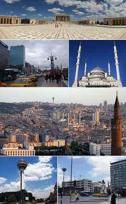 Ankara City Collage