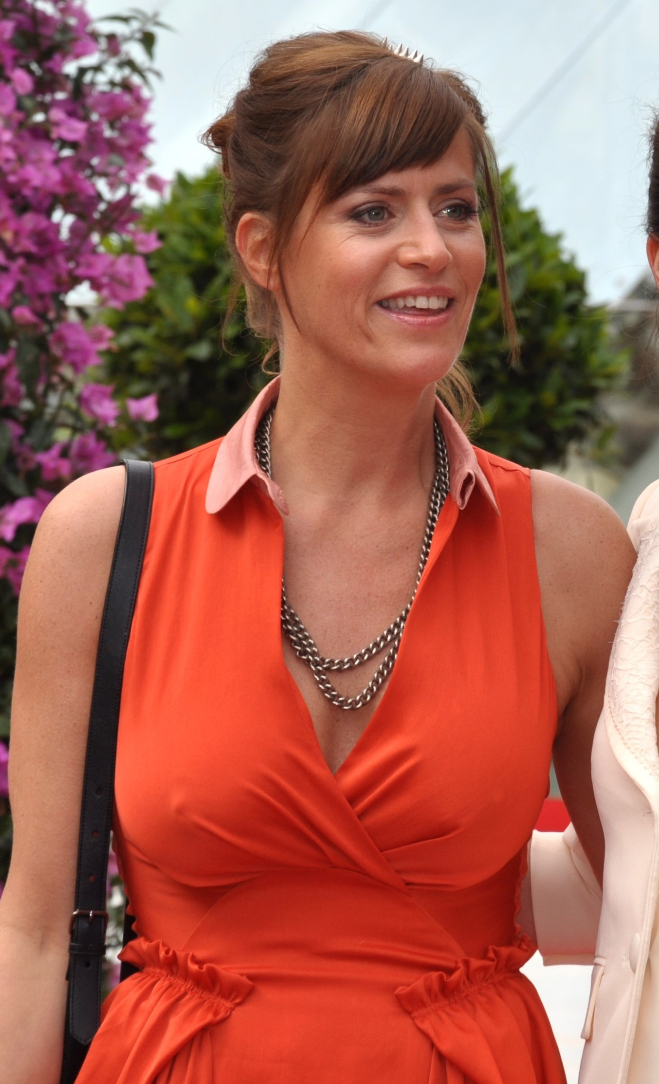 Fileanne Caillon Anne Charrier Monte Carlo Television Festival Cropped