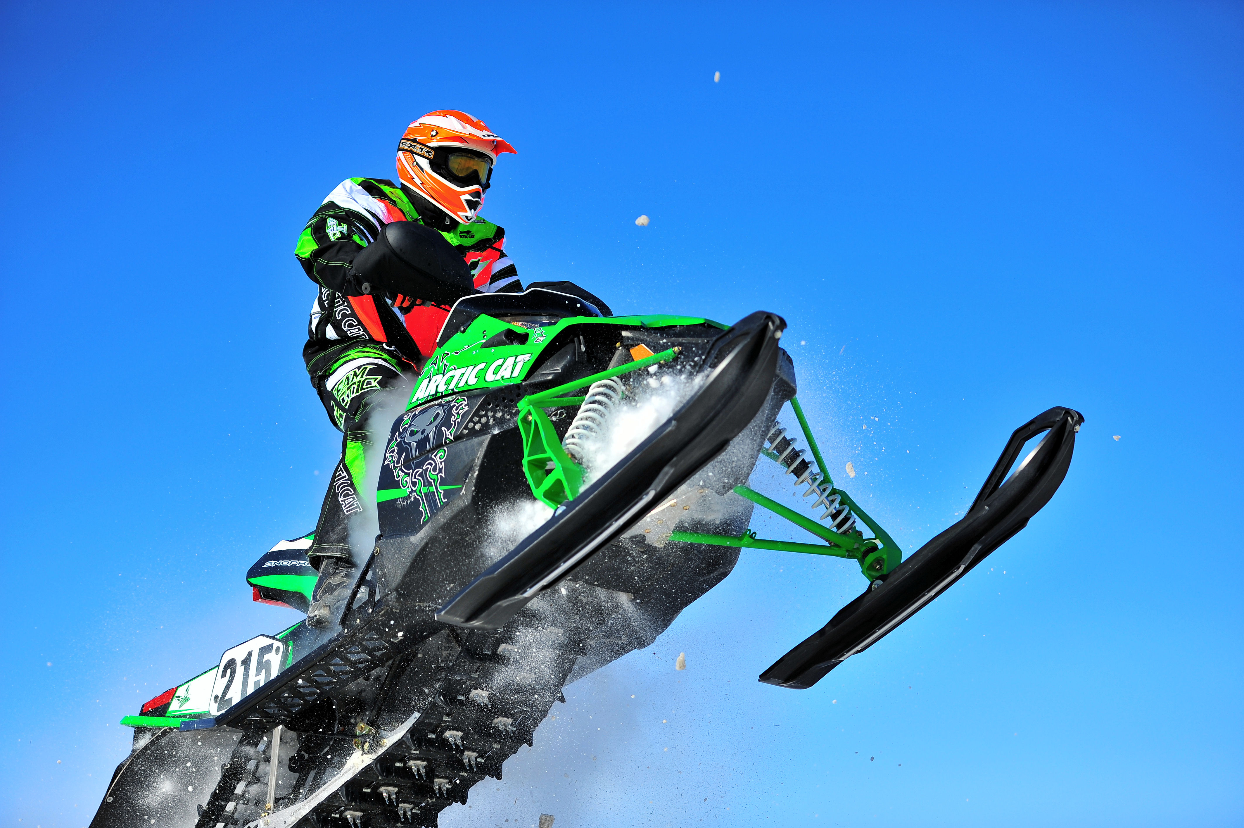 Arctic Cat Snowmobile Cans