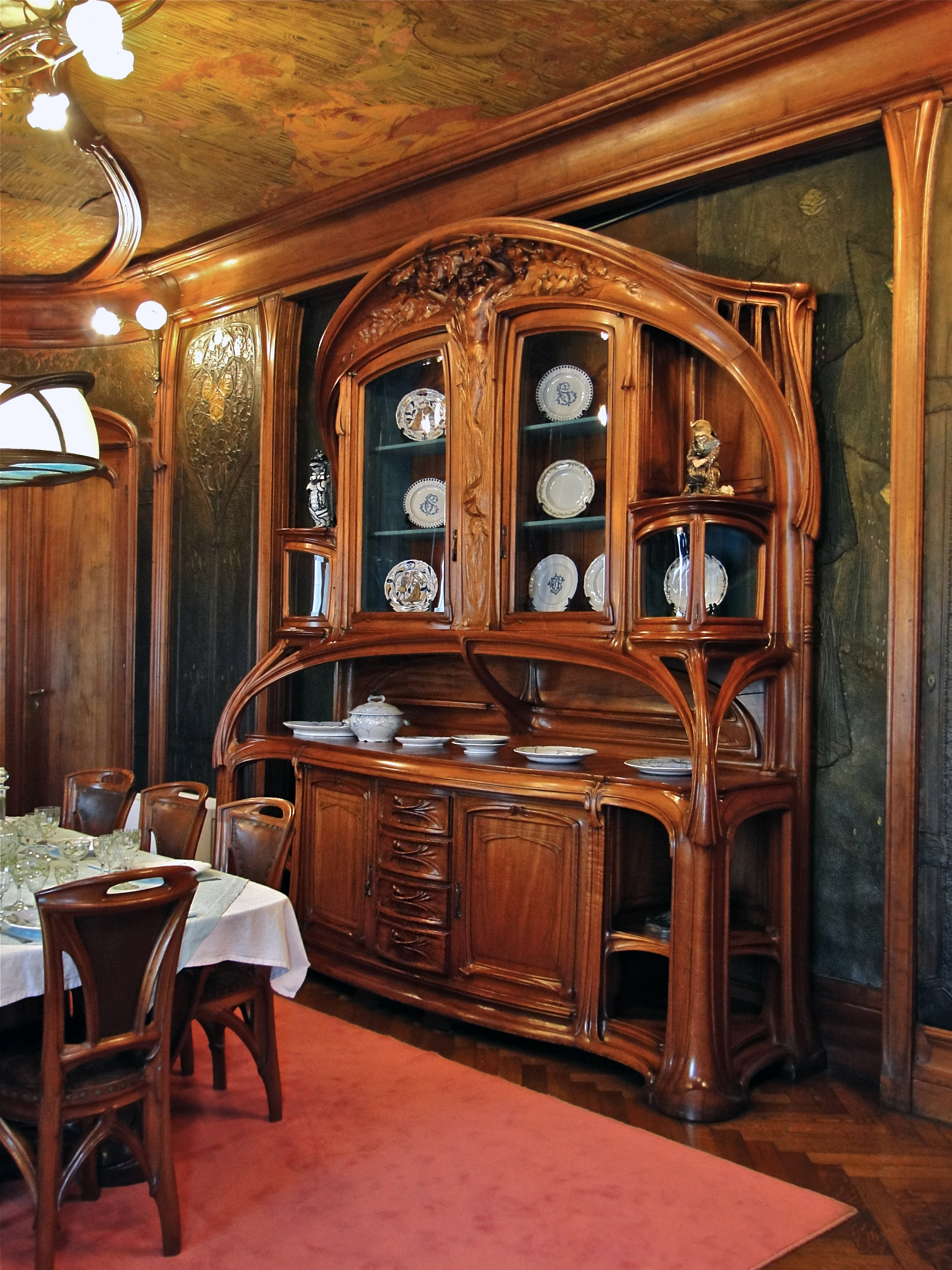 file art nouveau dining wikimedia commons