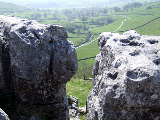 At the top of Malham Cove - geograph.org.uk - 640656