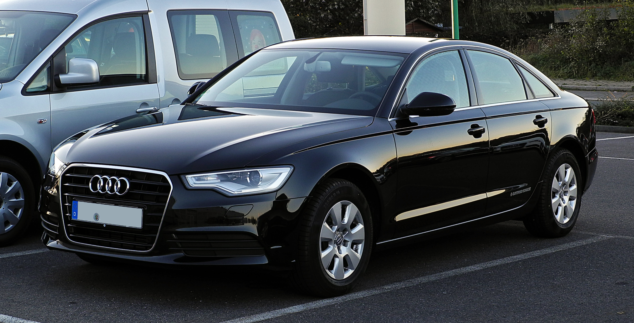 file audi a6 2 0 tdi c7 frontansicht 15 oktober 2011 wikimedia commons. Black Bedroom Furniture Sets. Home Design Ideas