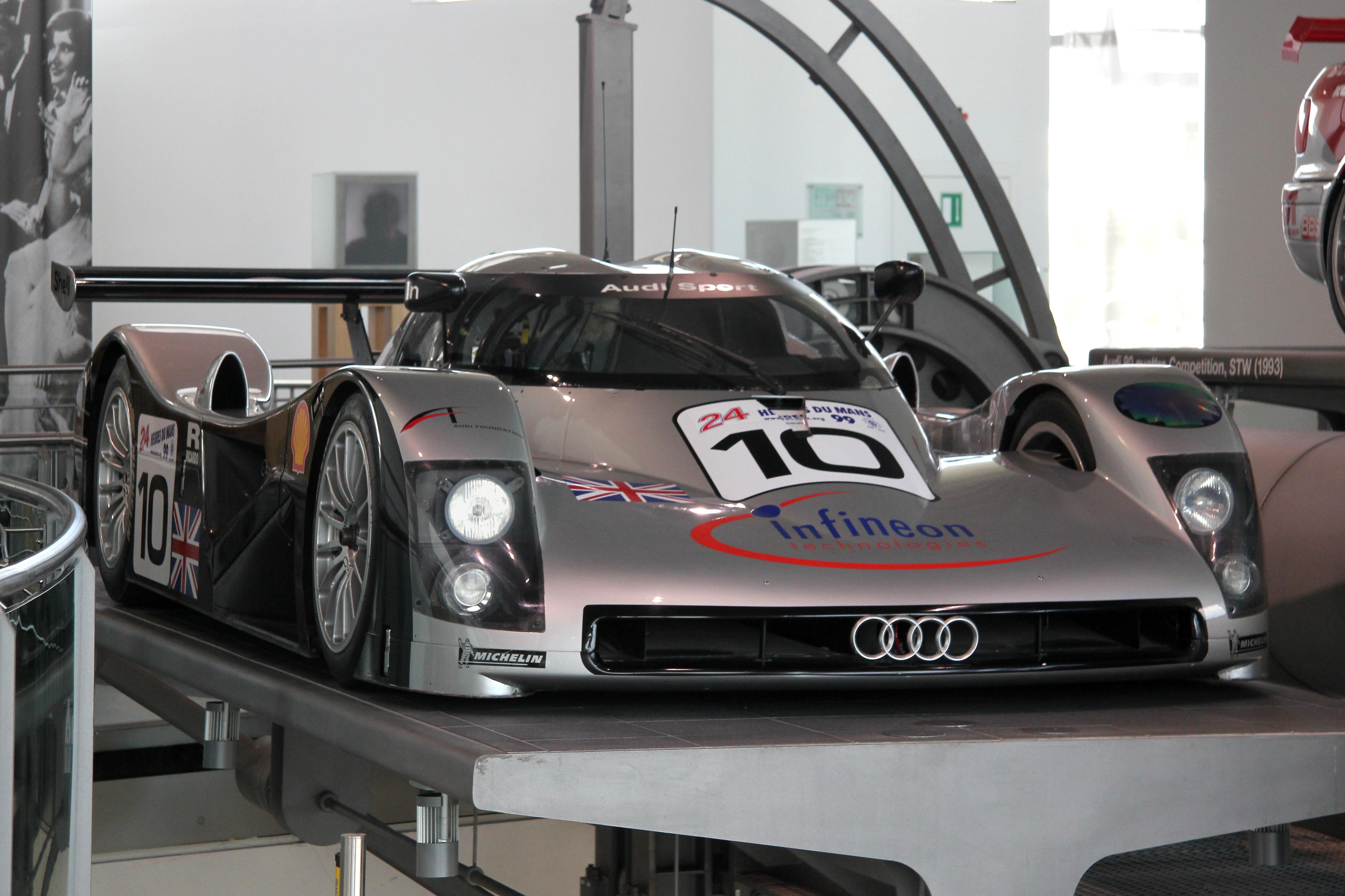 File Audi R8 C Bj 1999 Museum Mobile 2013 09 03 Jpg
