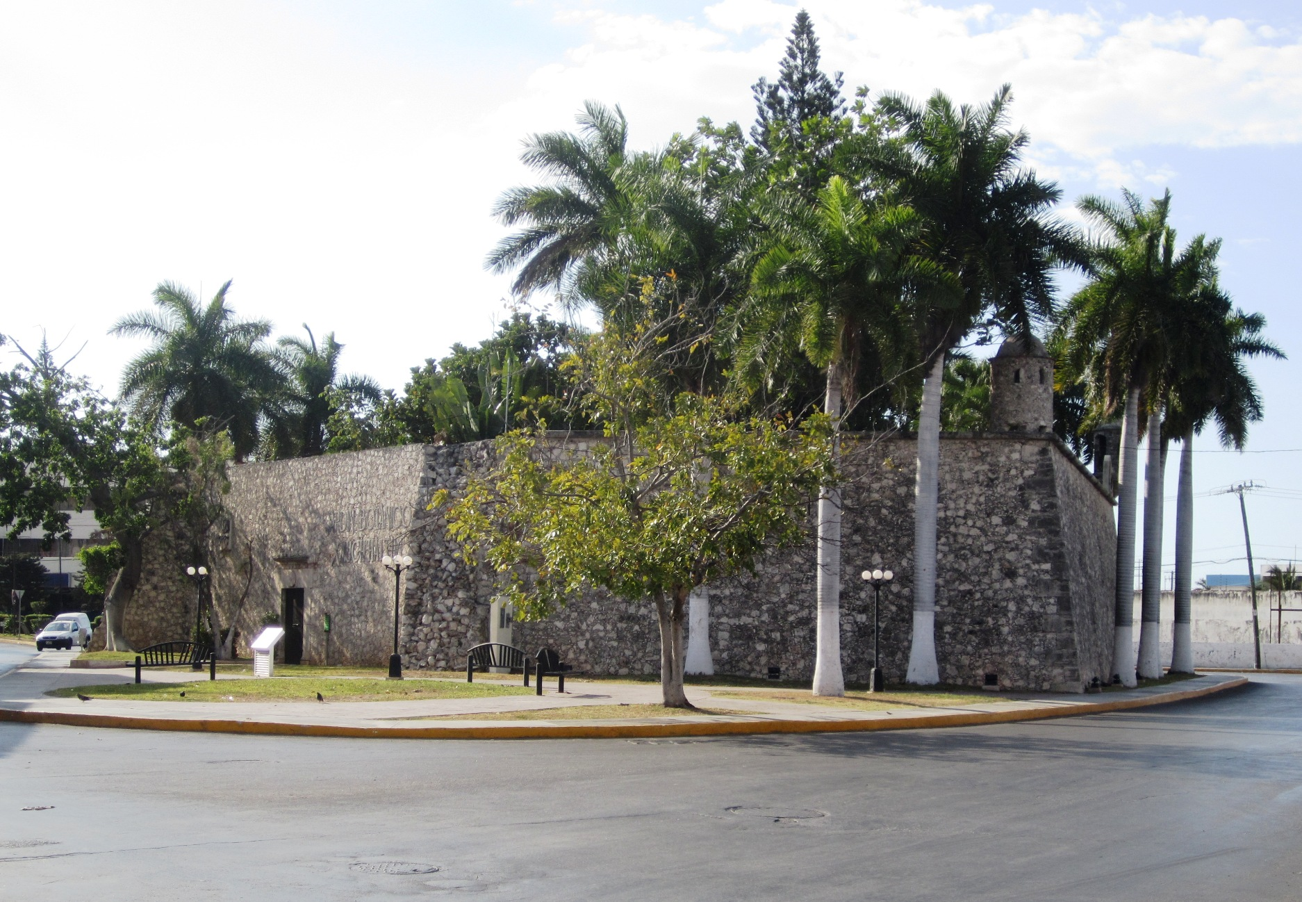 Baluarte de Santiago, de los baluartes de Campeche