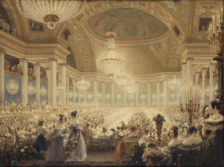 Fichier:Banquet des dames aux Tuileries 1835.jpg