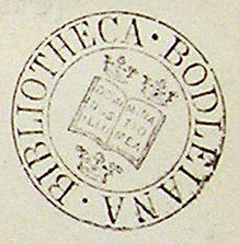 Bibliotheksstempel Bodleiana