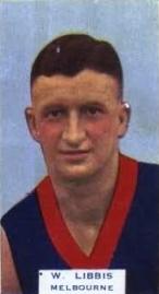 Billy Libbis Australian rules footballer, born 1903