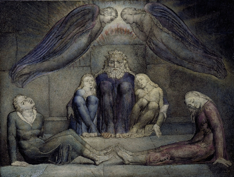 Count Ugolino, William Blake