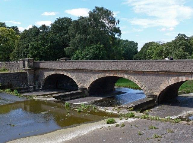 Bridge at Swithland Reservoir - geograph.org.uk - 516371