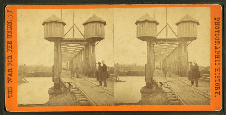 File:Bridge over the Cumberland River on the Louisville and Nashville R. R., by Barnard, George N., 1819-1902.jpg