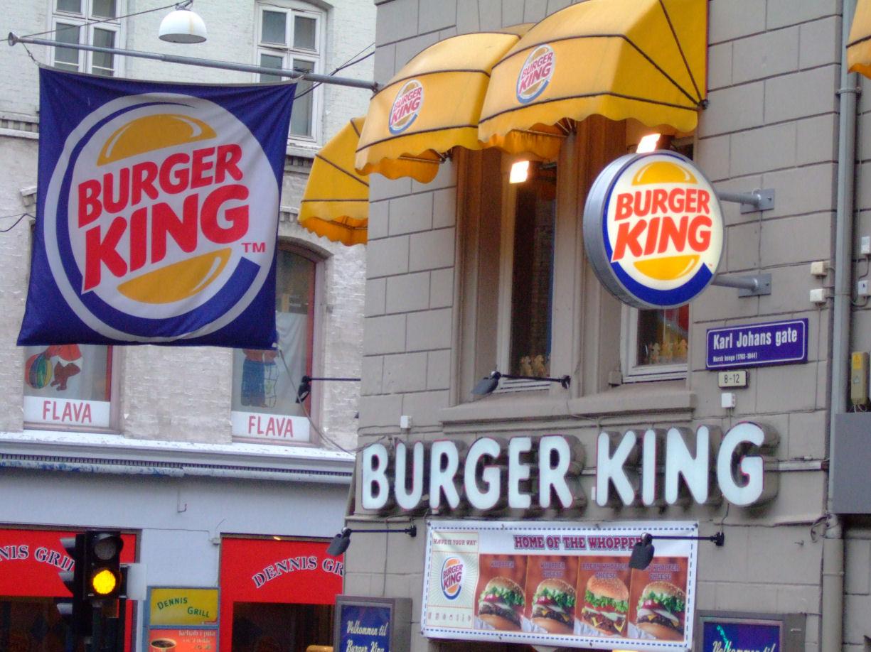 pris burger king