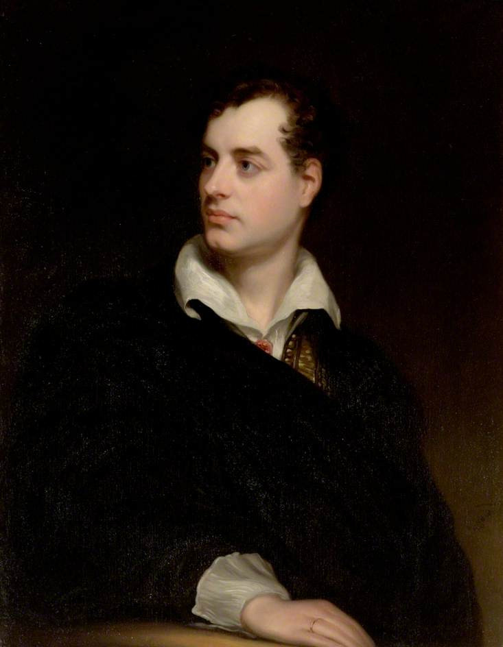 Picture of an author: George Gordon Byron