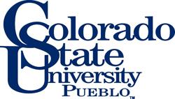 English: This is the official CSU-Pueblo logo.