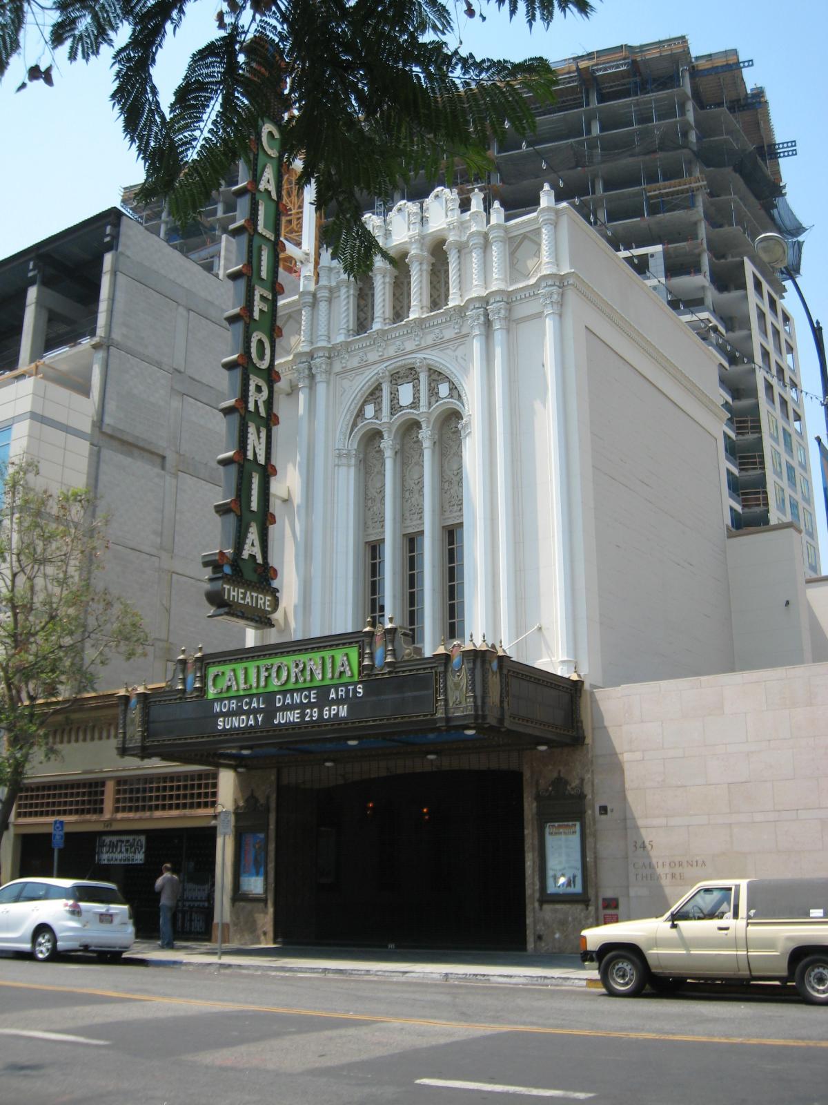 Description California Theatre (Fox), San Jose, CA.jpg