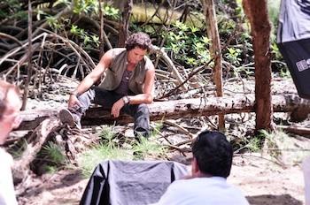 Carlos Vives en la grabación de uno de sus vídeos musicales.