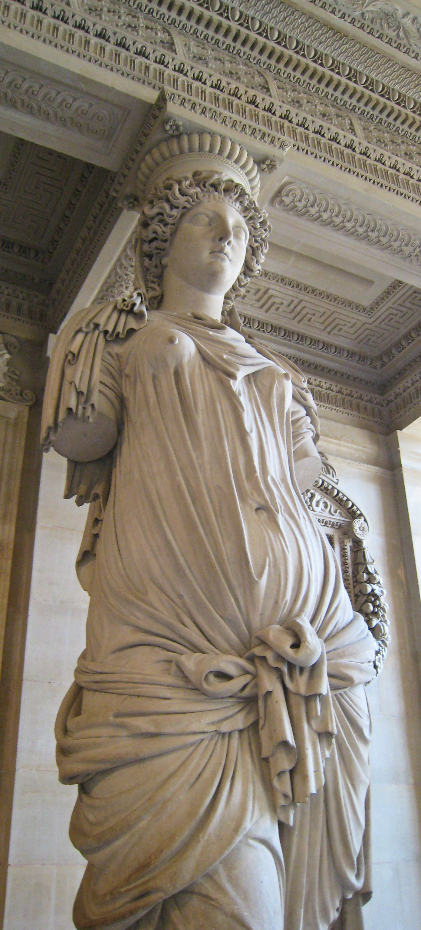 File:Caryatid by Jean Goujon at the Louvre - Flickr user ...