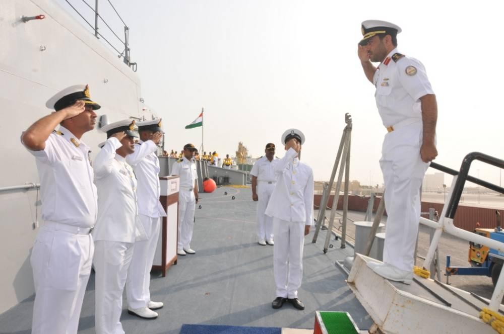 Naval Officer & Seamen