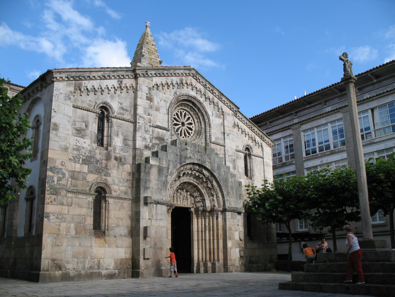 File Colegiata De Santa María Del Campo A Coruña Spain Jpg Wikimedia Commons