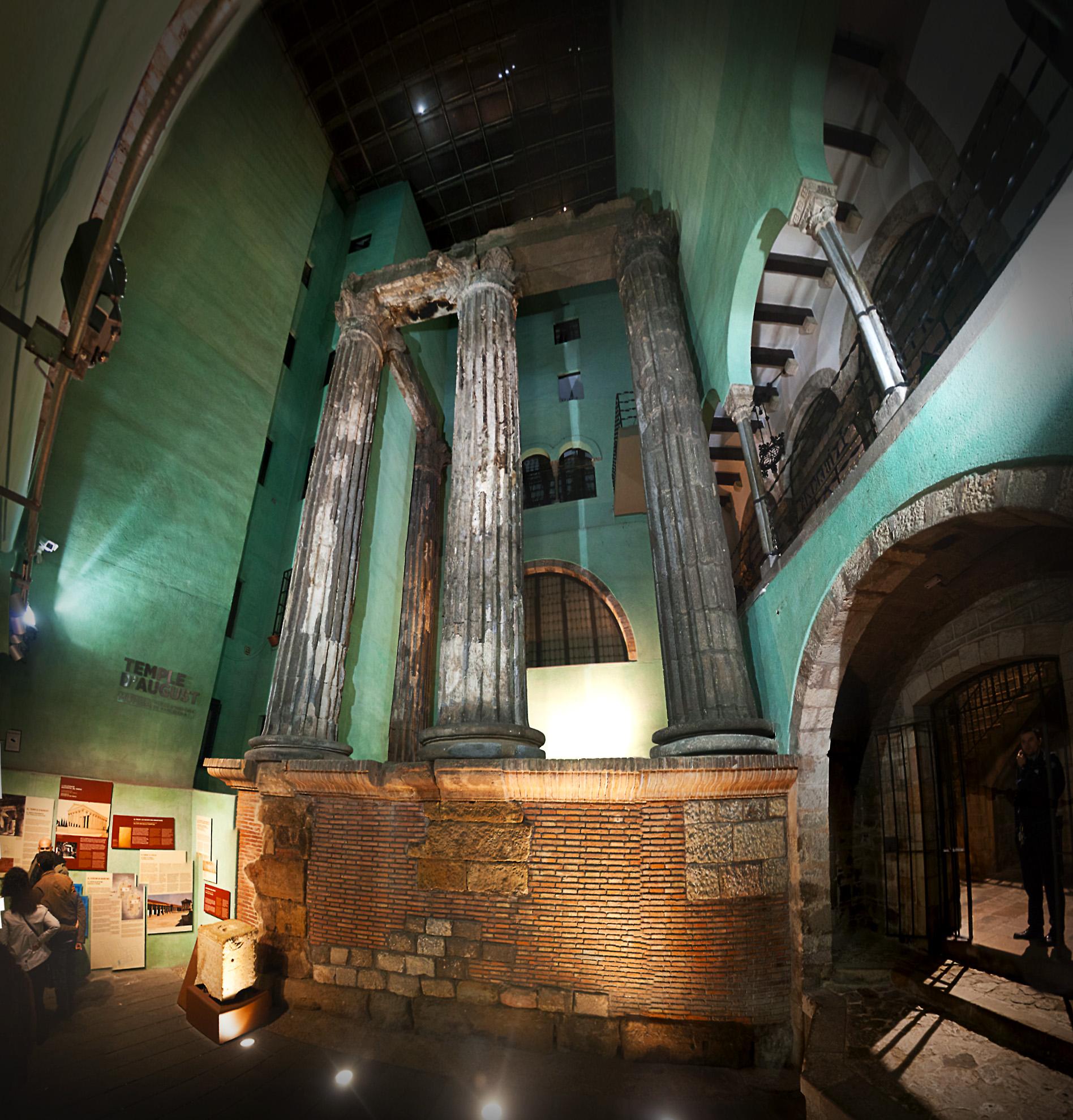 Columnas Romanas. Fotografía de Jesús Arpón.