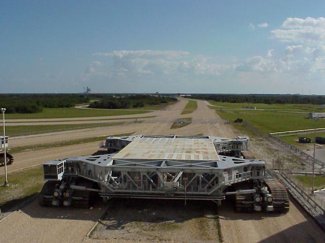 space shuttle transporter crawler cab-#22