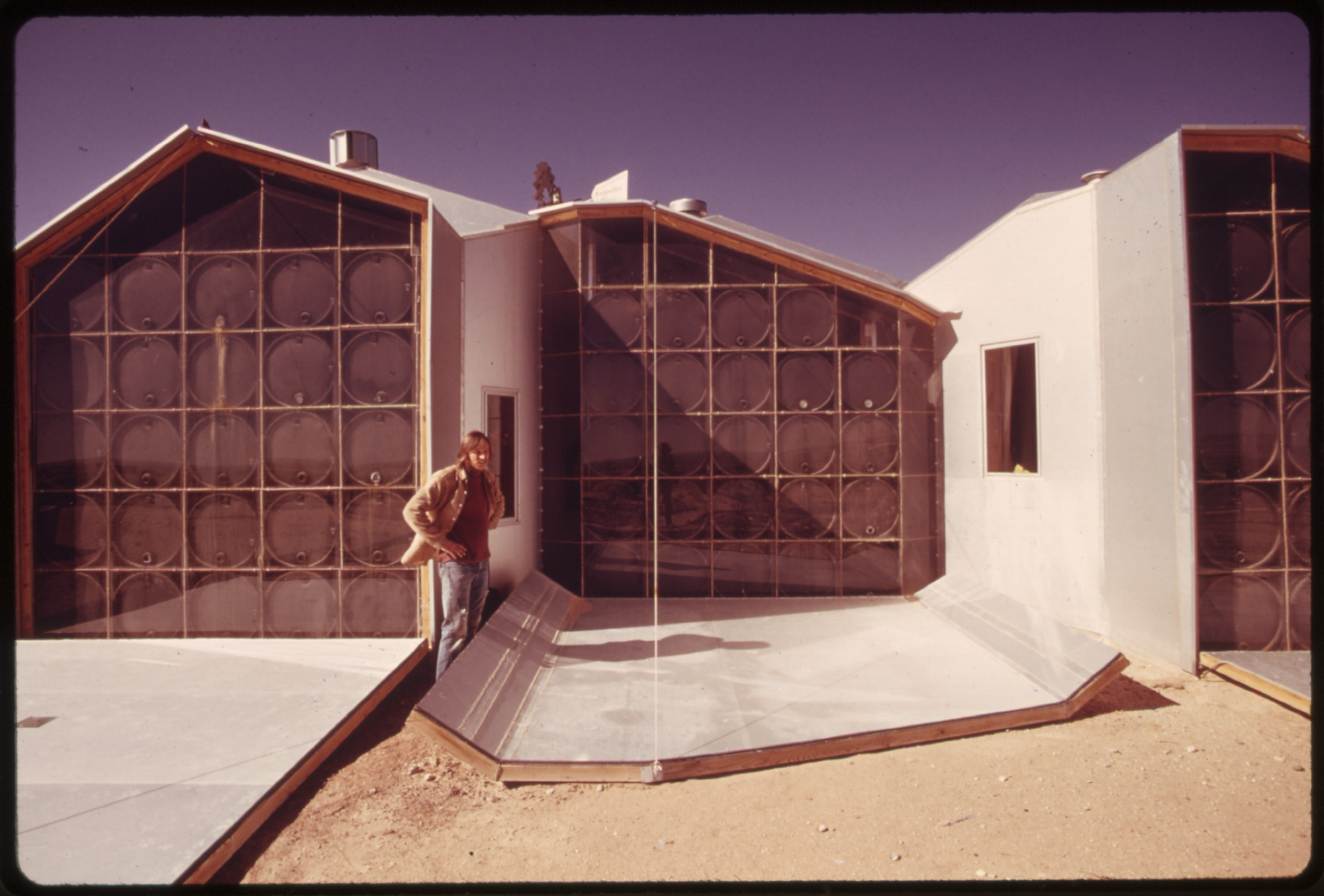 File Exterior Picture Of The South Facing Walls Of A