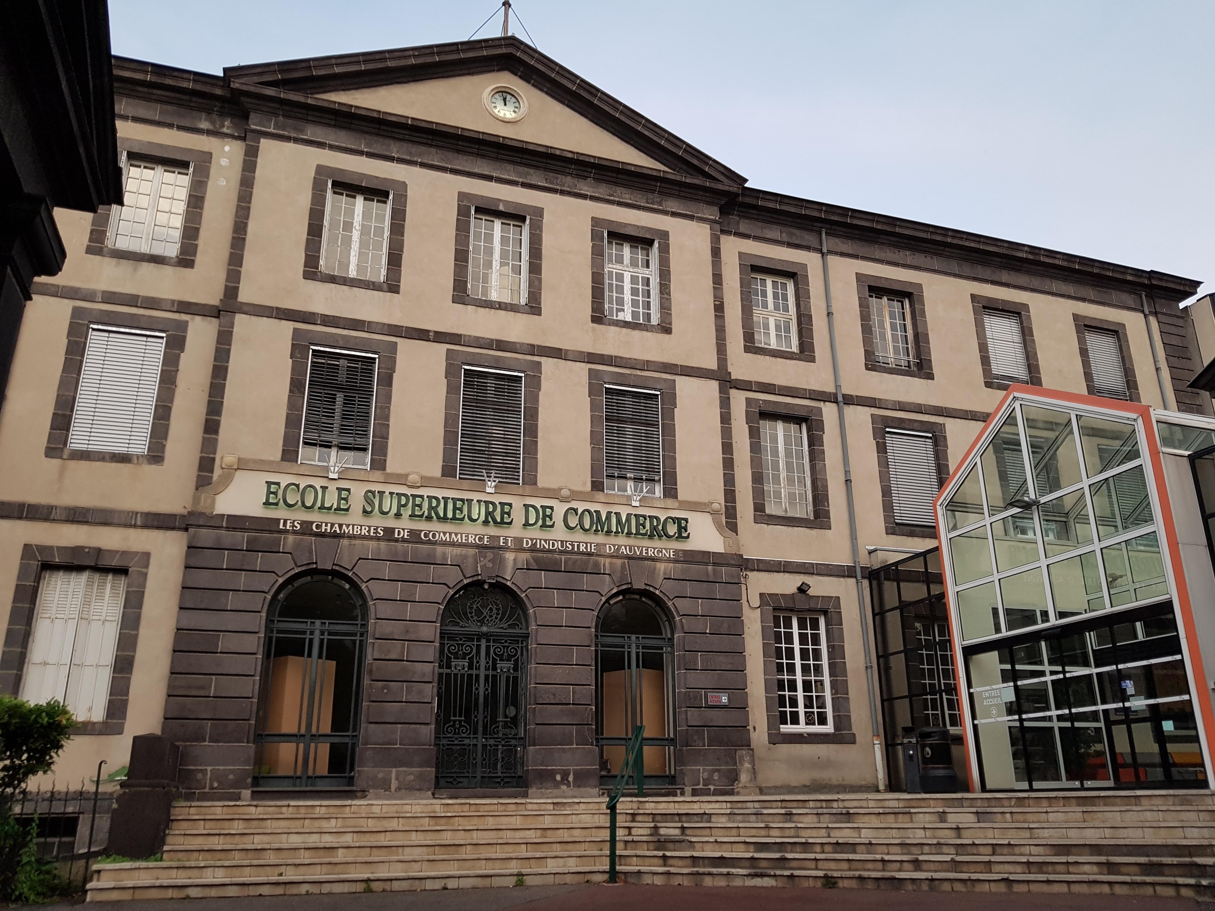 École D Architecture Clermont file:ecole supérieure de commerce de clermont