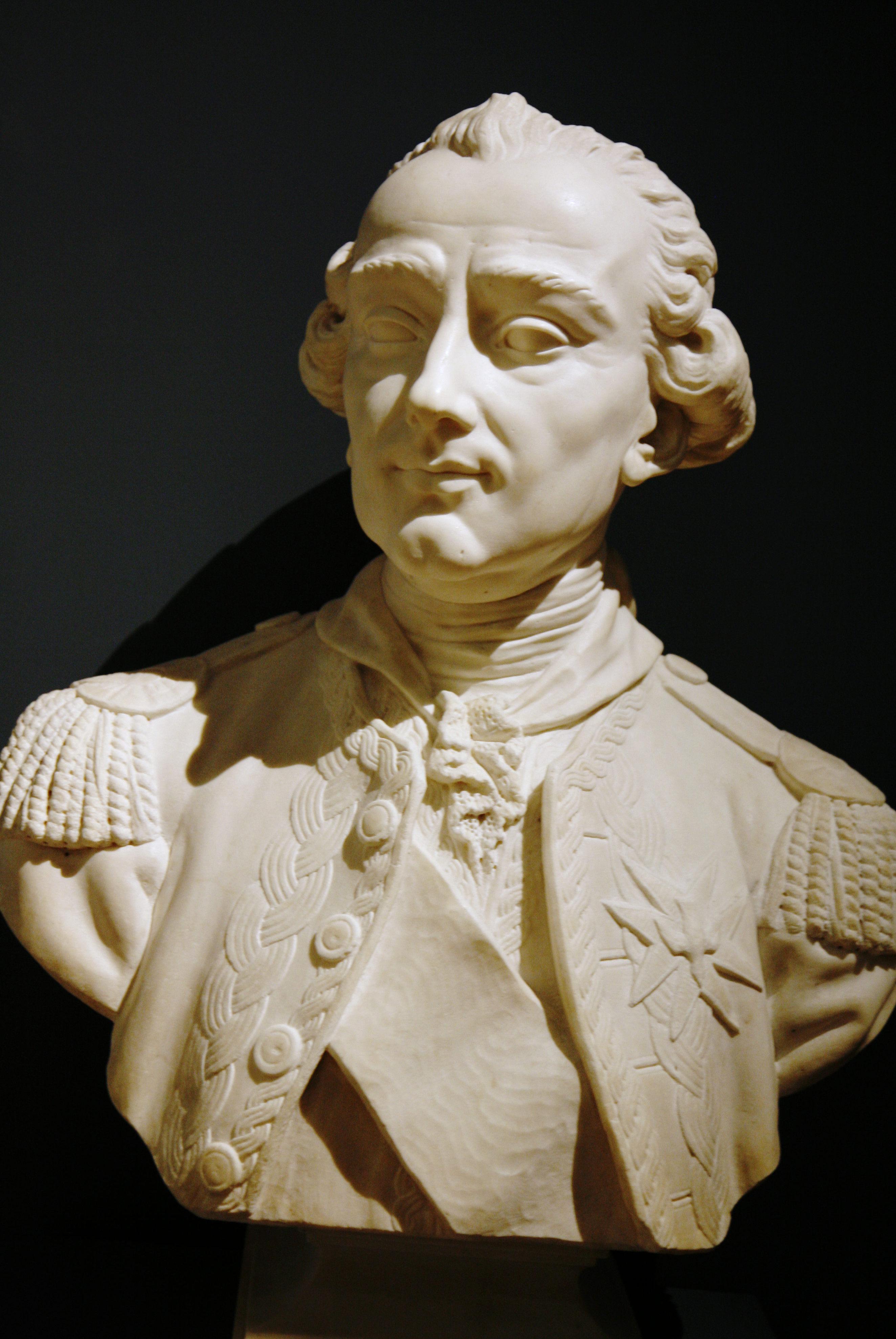 Jean-Pierre-Victor Huguenin: Charles Hector, comte d'Estaing