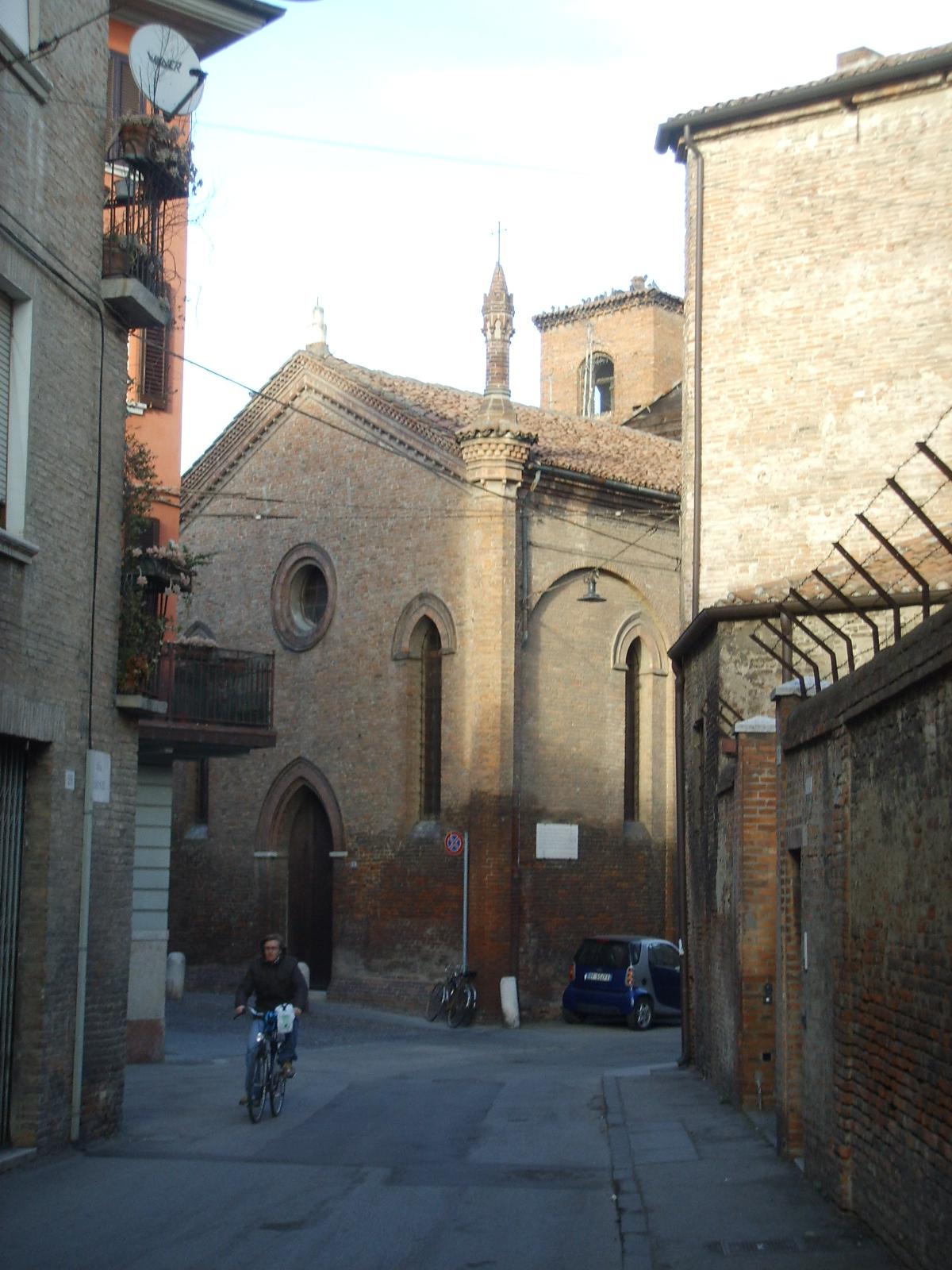 File ferrara chiesa di sant 39 agnese 01 jpg wikipedia for Permesso di soggiorno ferrara