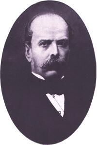 Filippo Pacini en 1870.