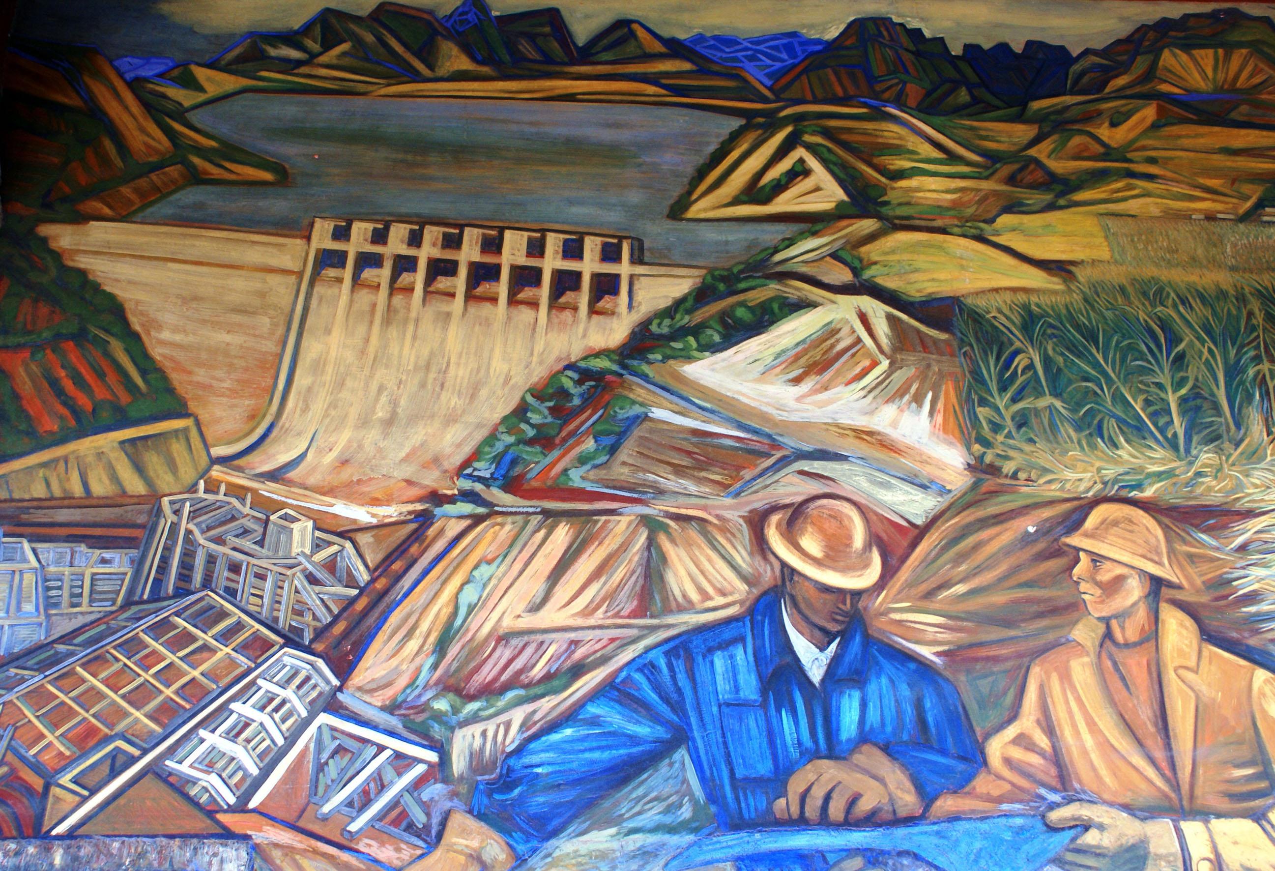 File fragmento mural alfredo zalce 4 wikimedia for Definicion de pintura mural