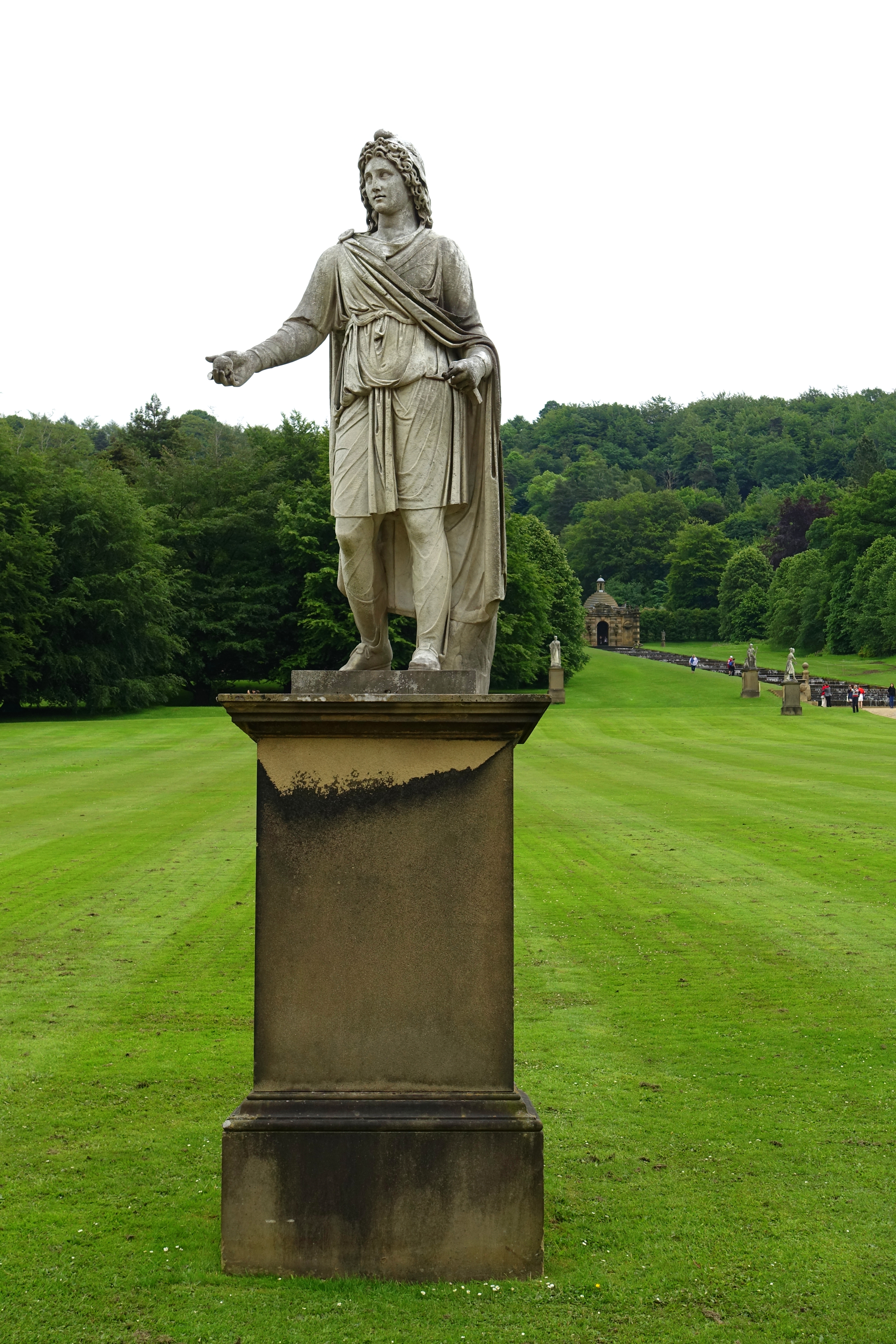 Chatsworth House History: File:Garden Sculpture