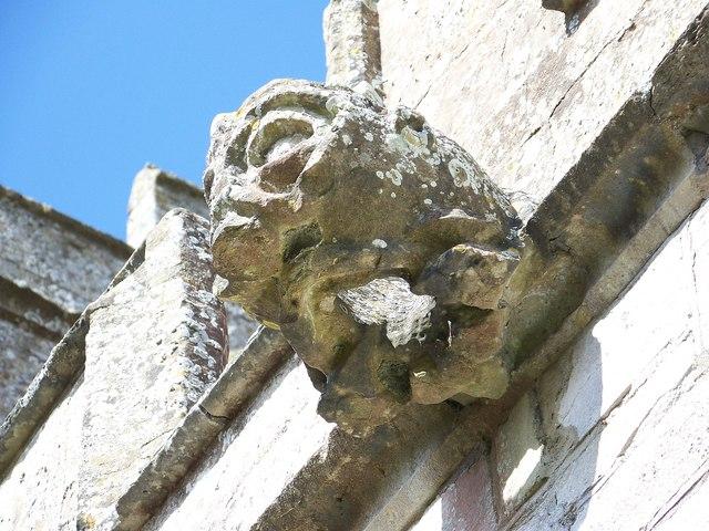 Gargoyle on St. Peter's Church, Codford