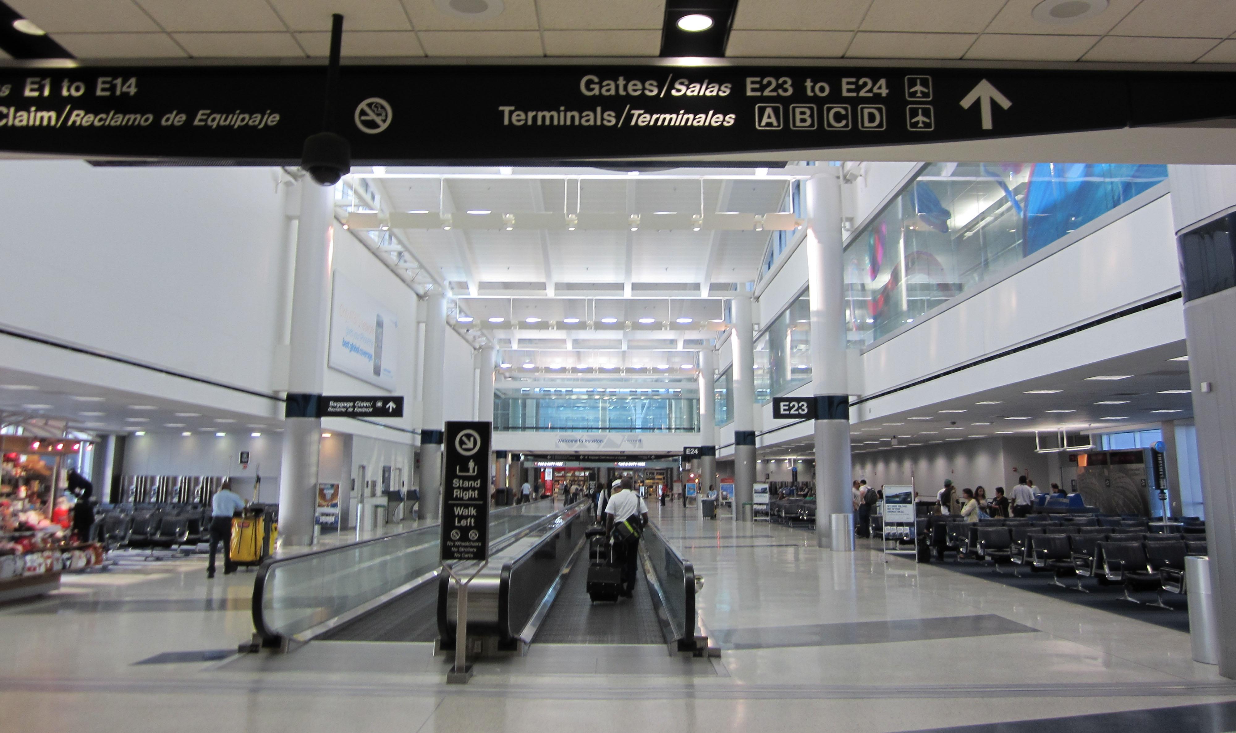 George Bush Airport Rental Car Return