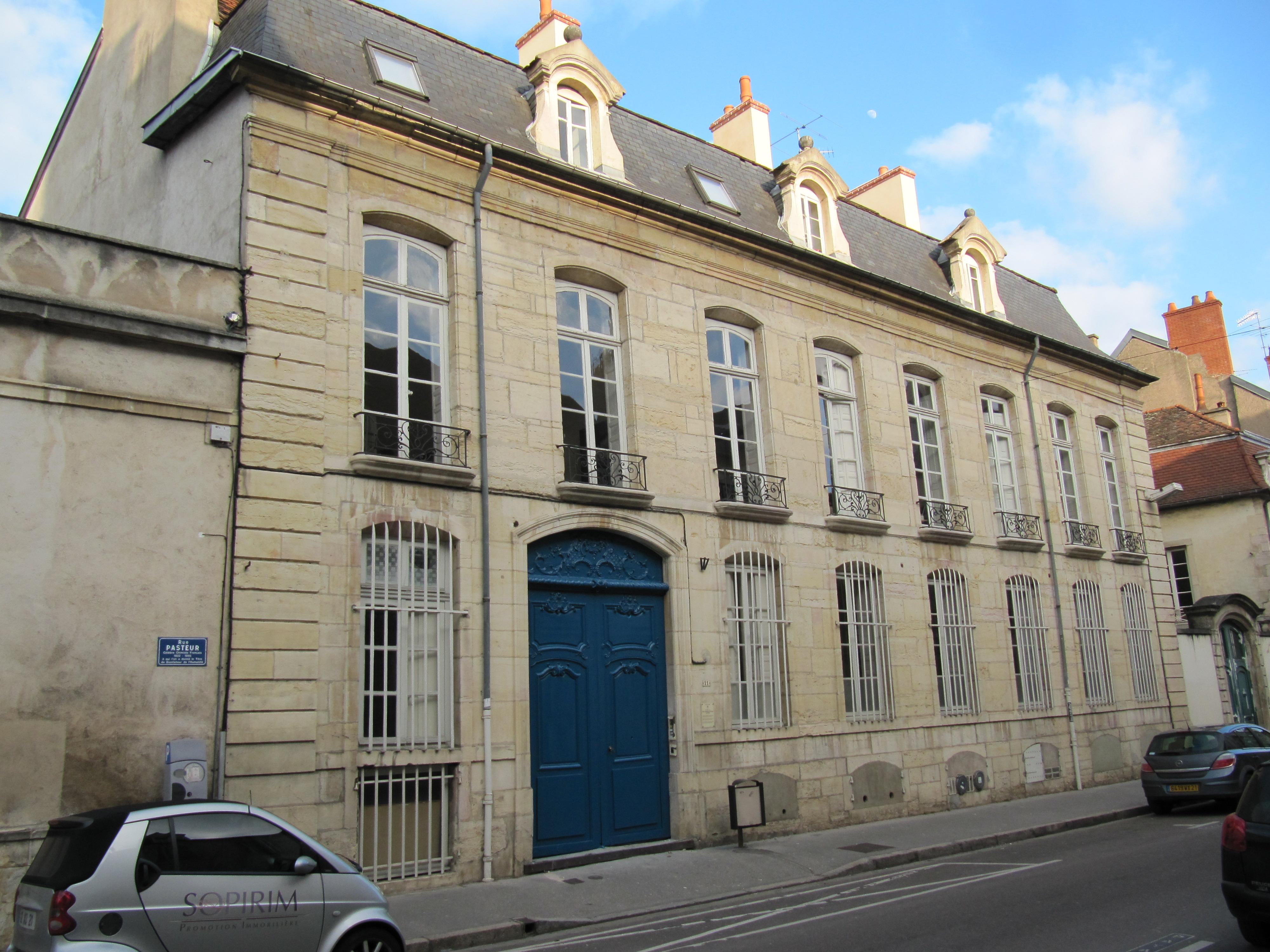 File h tel 11 rue pasteur dijon jpg wikimedia commons for Hotels dijon
