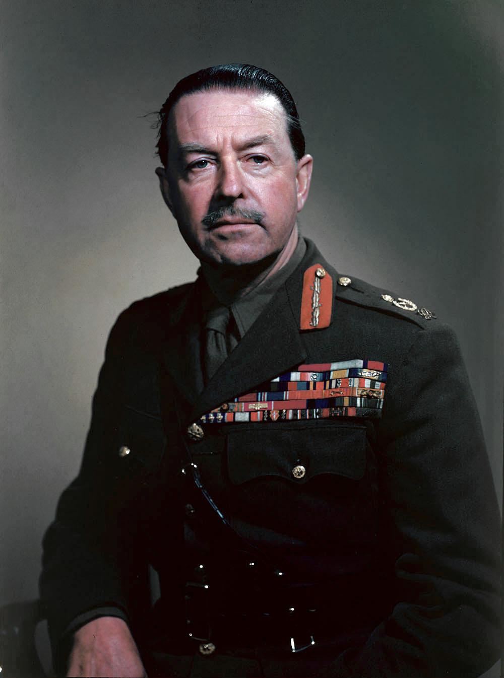 Depiction of Harold Alexander