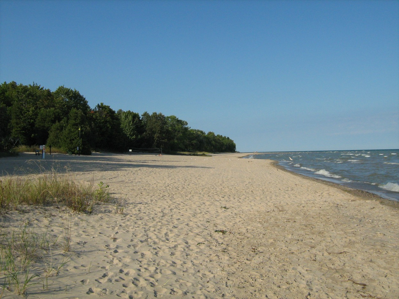 Michigan State Park Camp Grounds With Dog Beaches