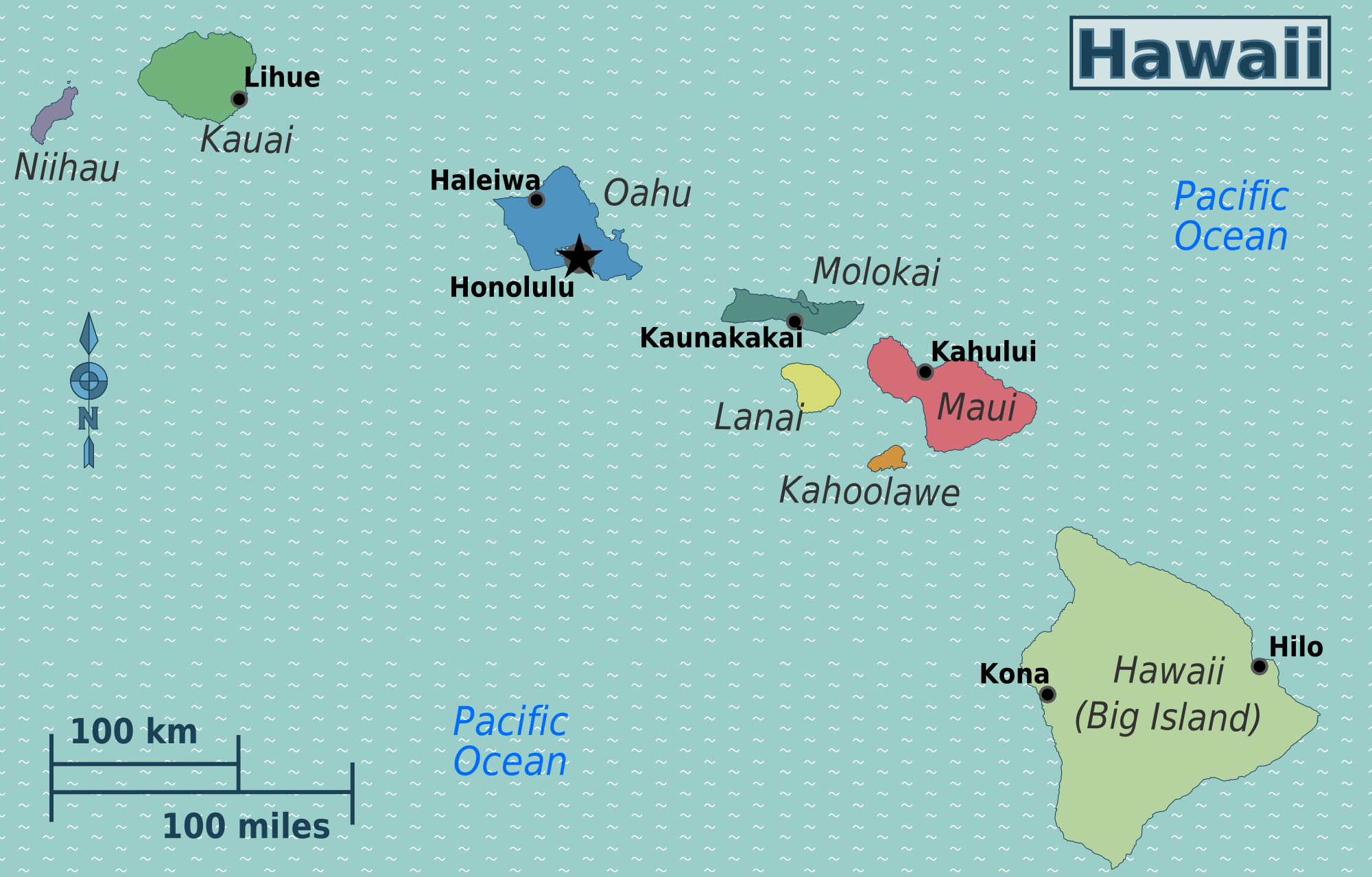 Kahului Hawaii Map.Hawaii Travel Guide At Wikivoyage
