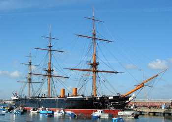 December 29: HMS Warrior (restored). Hms warrior.jpg