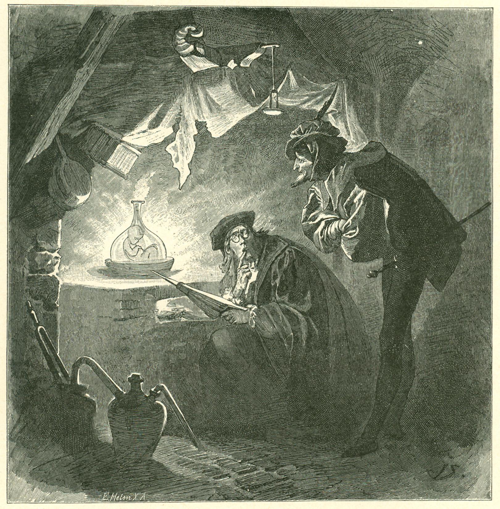 Simm Homunculus  Faust Mephisto