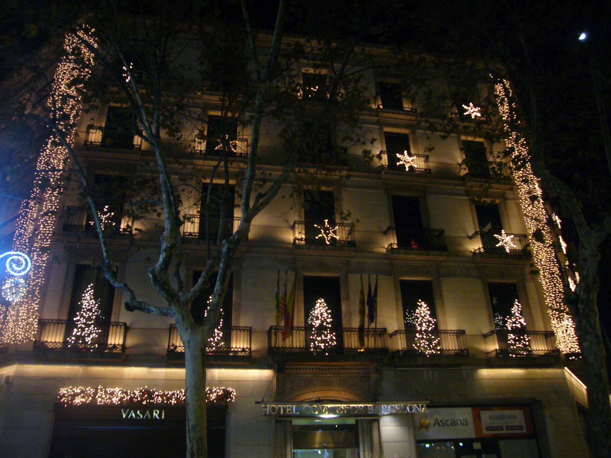 filehotel comtes de barcelona passeig de grcia nadaljpg