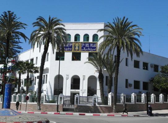 Instituto espa ol nuestra se ora del pilar for Educacion exterior marruecos