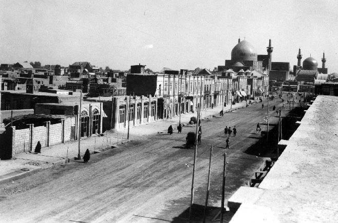 """Résultat de recherche d'images pour """"عکس از مسجد گوهرشاد در سال 1935"""""""