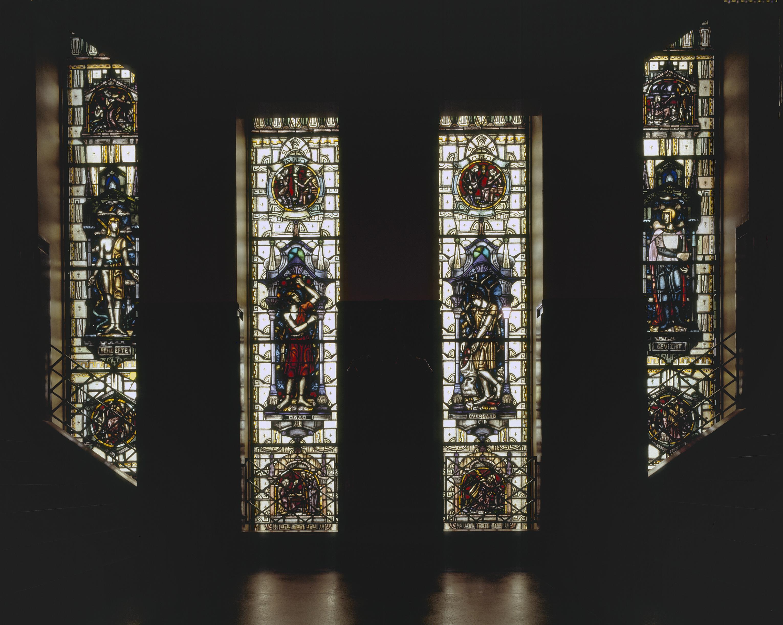 File interieur aanzicht gebrandschilderde glas in for Interieur amsterdam