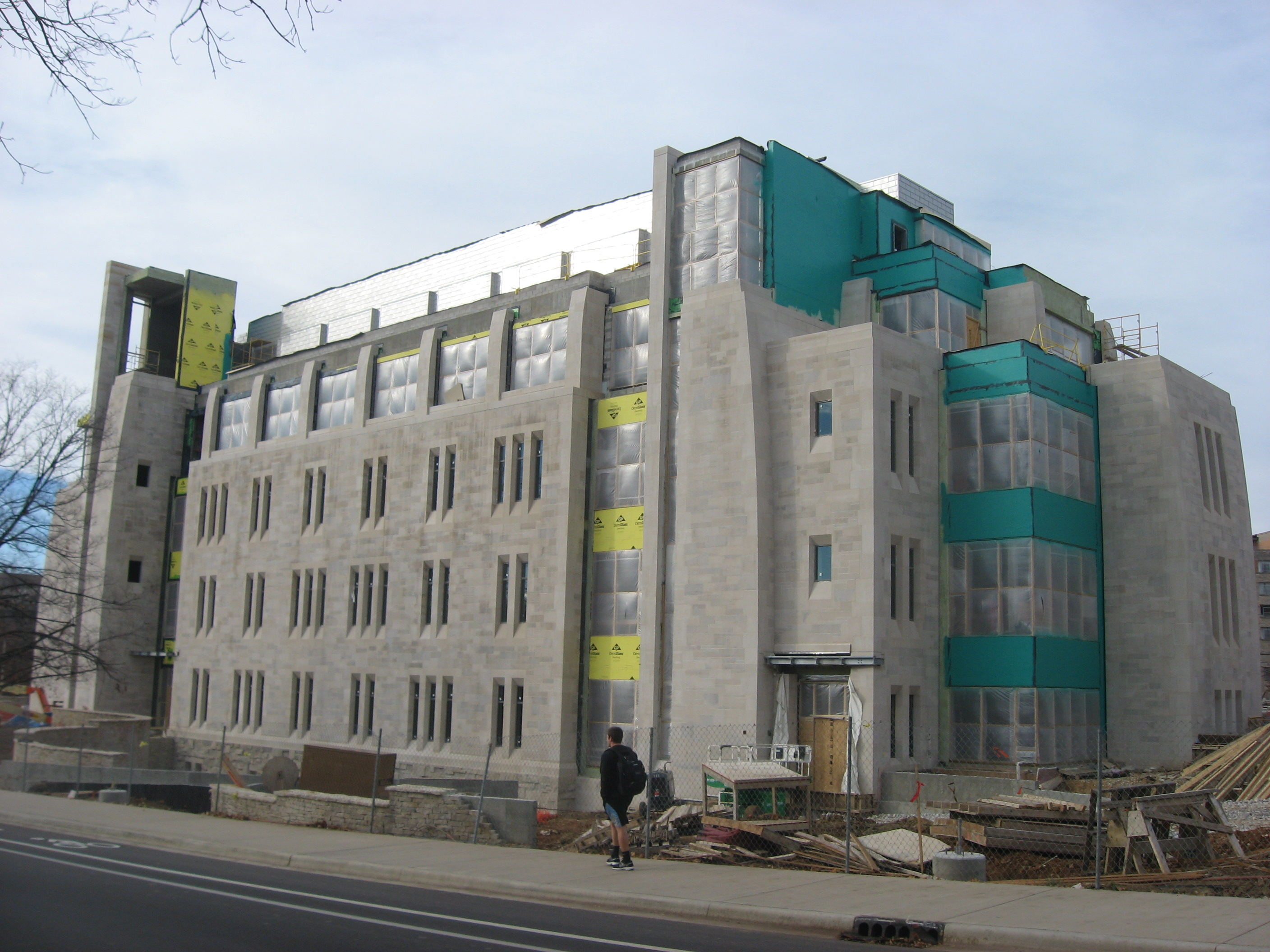 File jacobs school of music construction in bloomington for Schoolhouse music