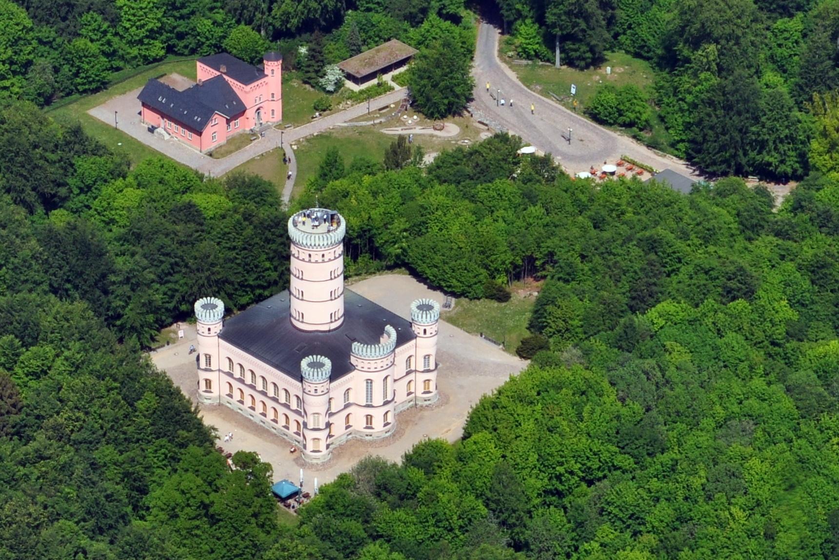 Jagdschloss Granitz Treppe