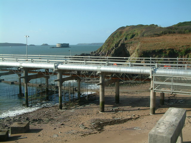 Jetty to LNG Terminal