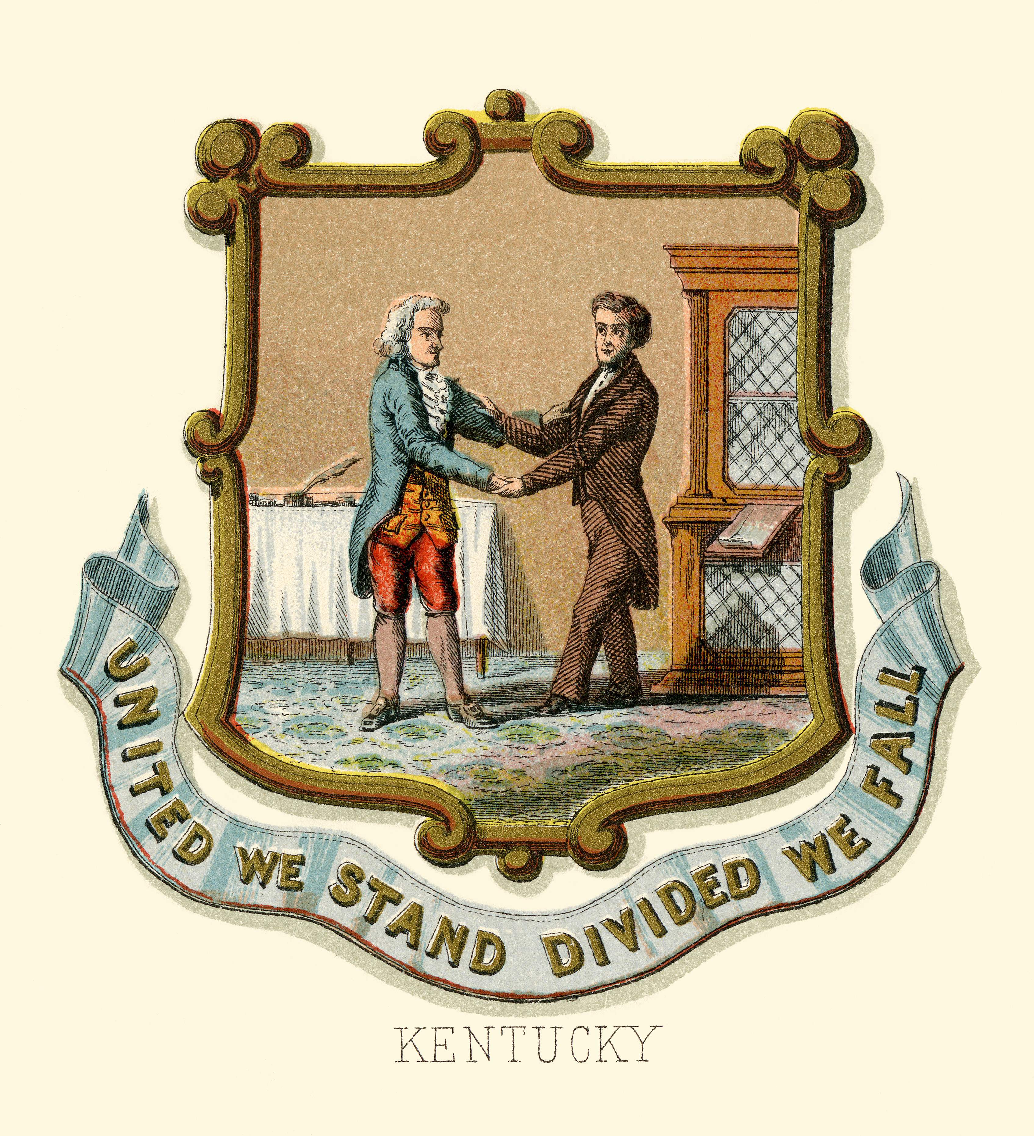Kentucky state coat of arms (illustrated, 1876).jpg