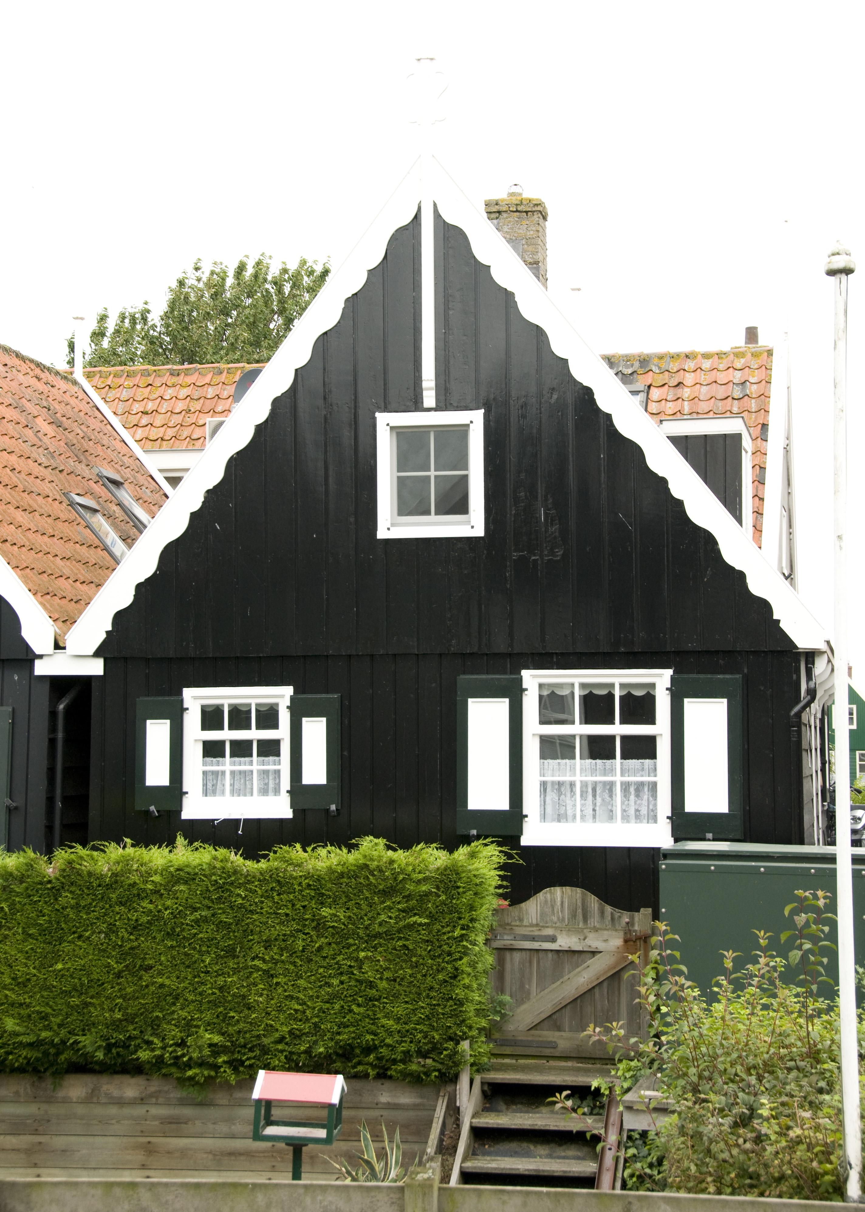 Houten huis in marken monument - Houten huis ...