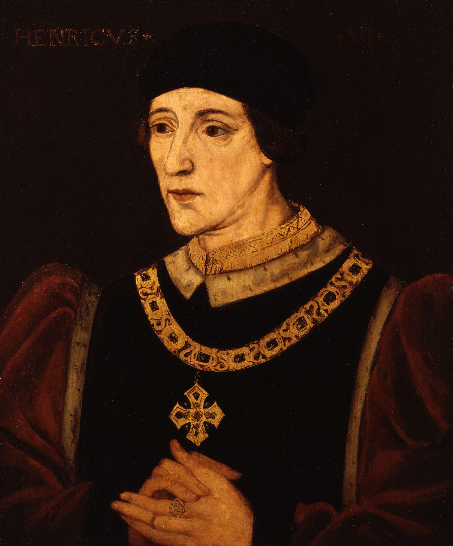 King Richard Iii File King Henry Vi From Npg Jpg Wikimedia Commons